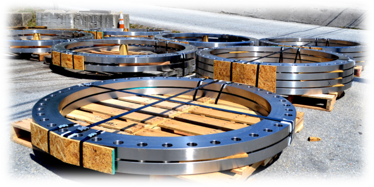 Custom Machined Flanges From Plate and Forgings